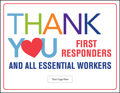 First Responders Design 3 - 28in x 36in