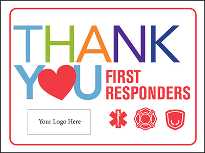 First Responders Design 1 - 18in x 24in