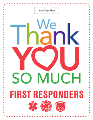 First Responders Design 2 - 28in x 36in